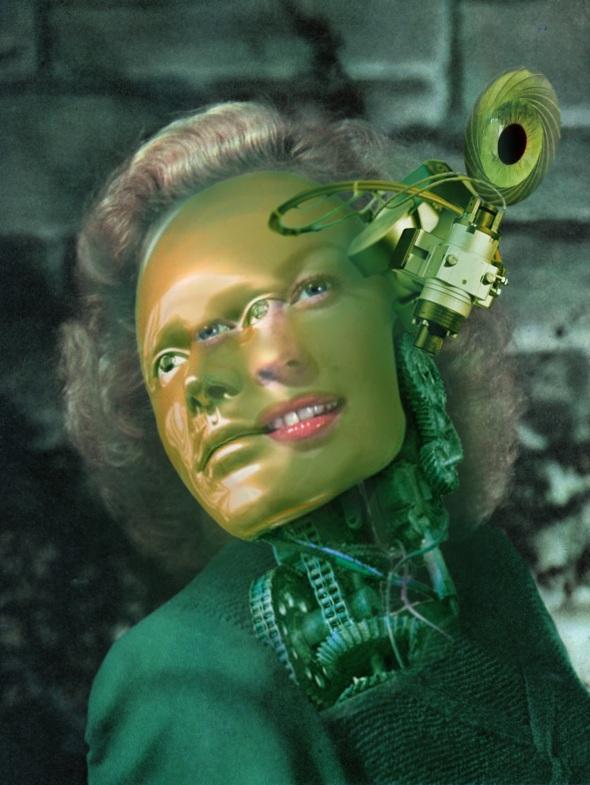 Portrait of a Female Futurist 3.