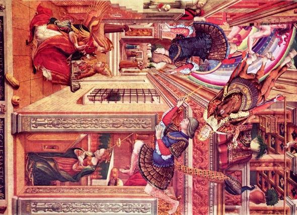 Renaissance Men Falling.